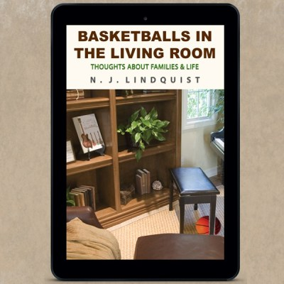 Basketballs in the living room are part of life