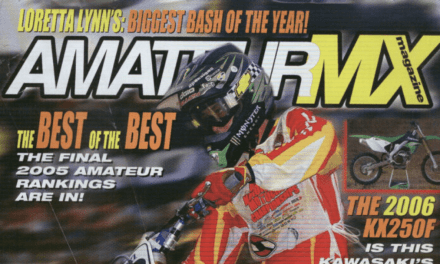Amateur MX Magazine, Jason Lawrence