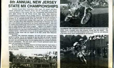 Raceway News Flashback