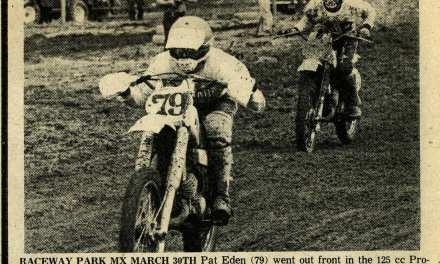 Raceway News Flashback – Pat Eden 1980