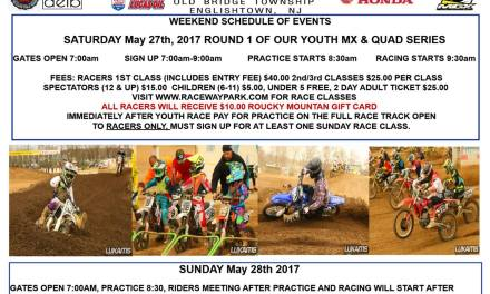 Raceway Park Motocross – May 27-28