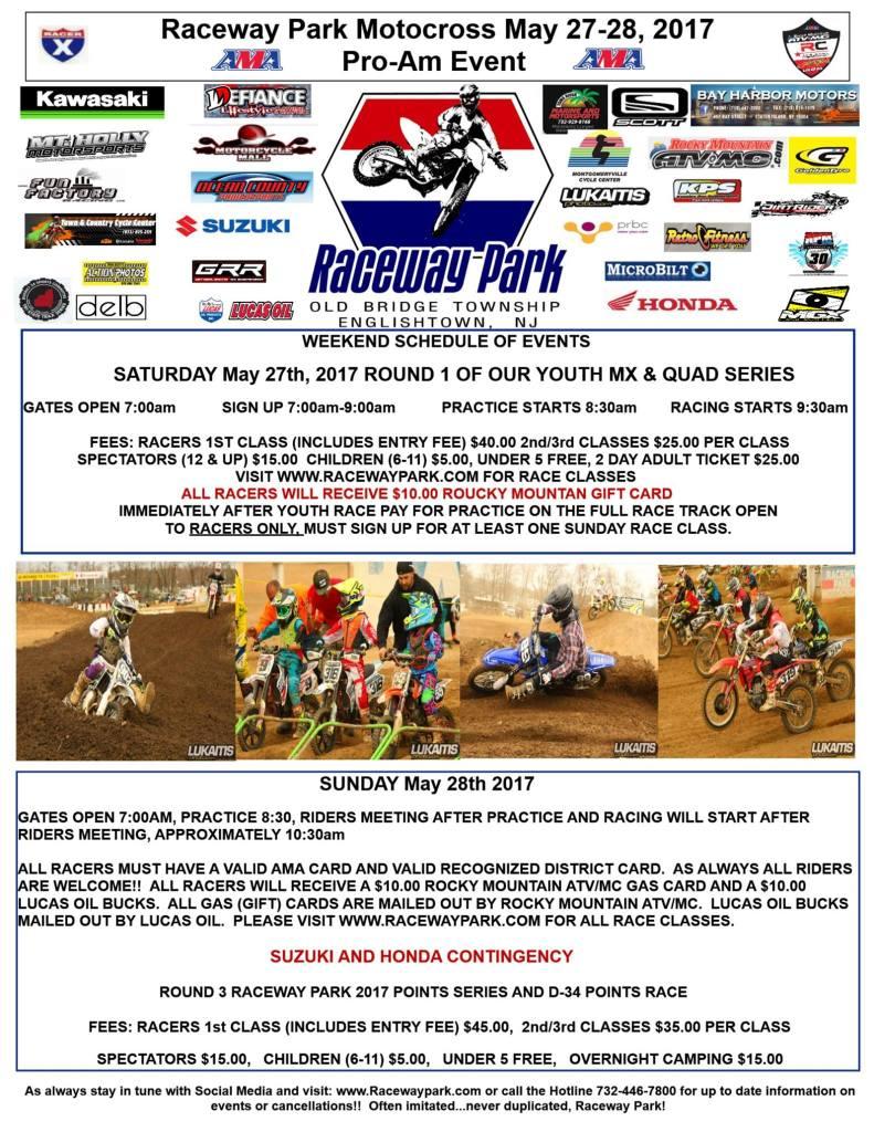 raceway park may 27 & 28