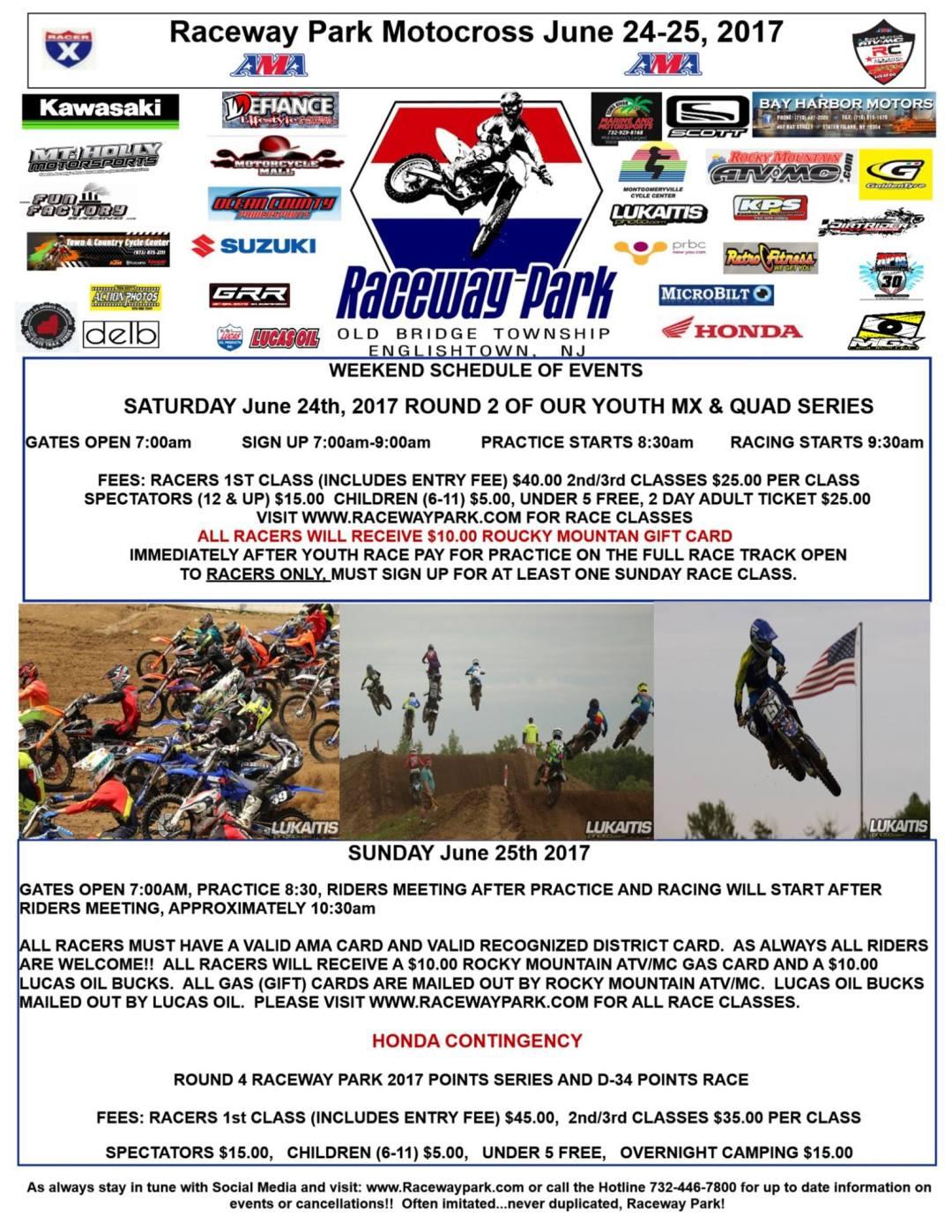 raceway park june 24 & 25
