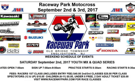 Raceway Park Motocross – Labor Day Weekend