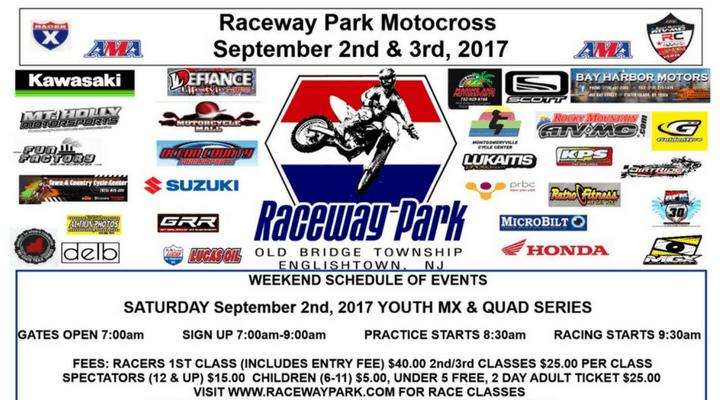 Raceway Park Motocross – Labor Day Weekend