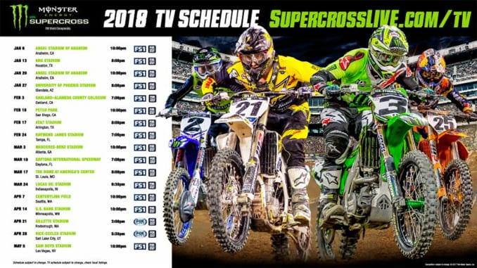 Format Changes For Monster Energy Supercross Nj Motocross