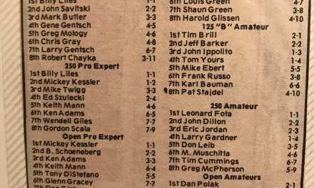 Raceway Park Results KROC 1982