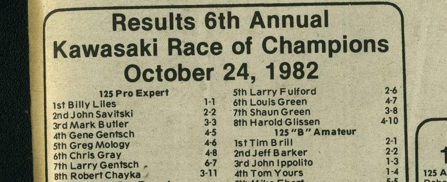 Raceway Park – KROC 10/24/82