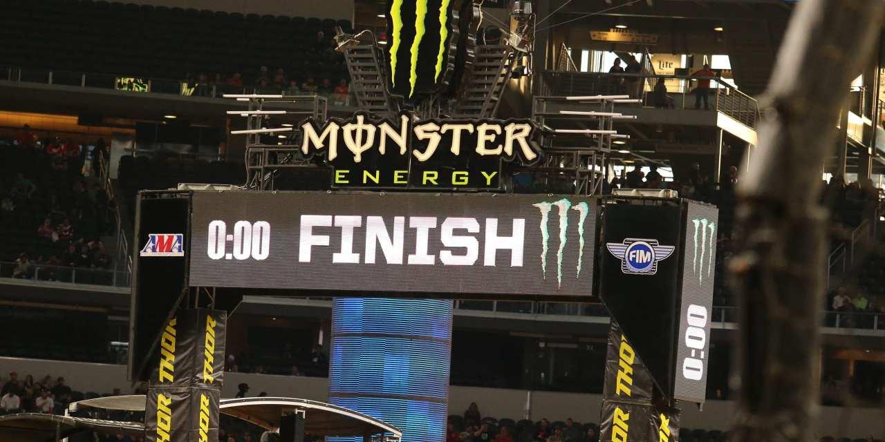 Monster Energy Supercross – Minneapolis, MN – Round 14