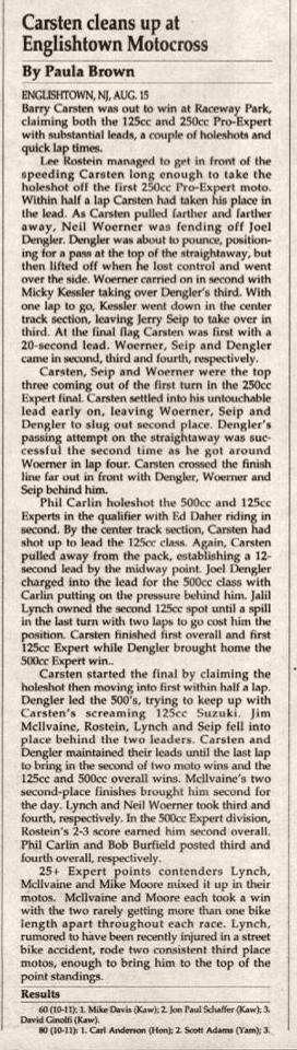 raceway park 8/15/93