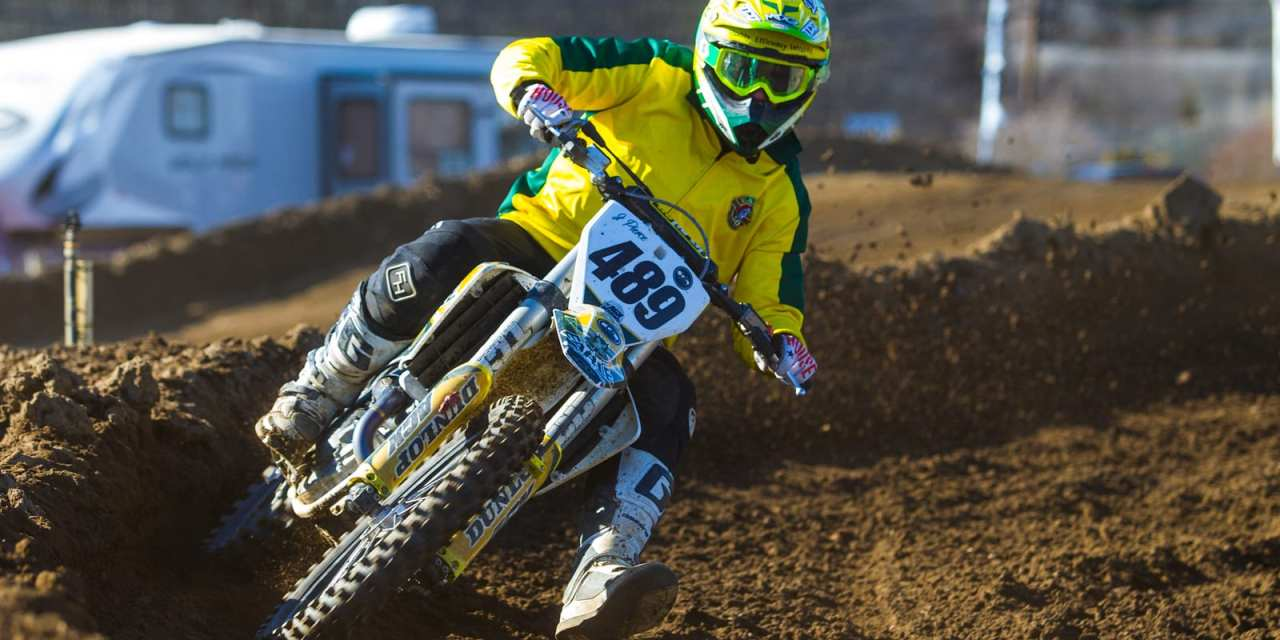 Meet Clarksburg's Motocross Racer Jesse Pierce at the NEW Old Bridge  Township Raceway Park Motocross Tracks