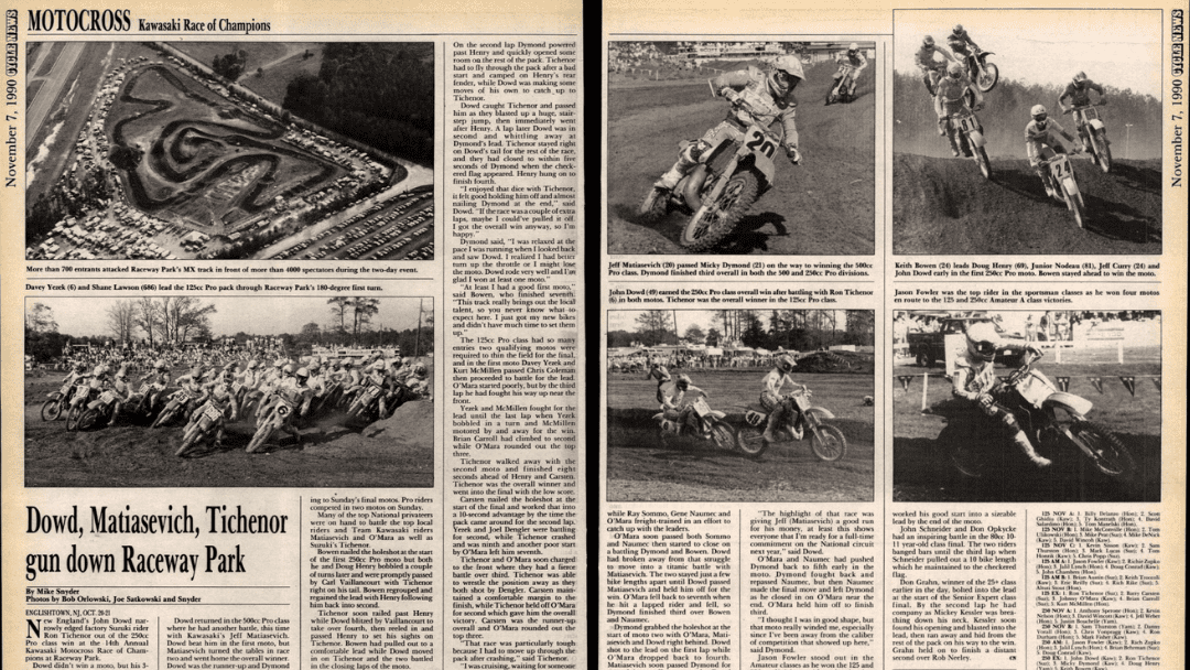 KROC 1990 Results and Coverage