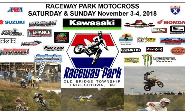 Raceway Park Weekend Schedule November 3-4, 2018