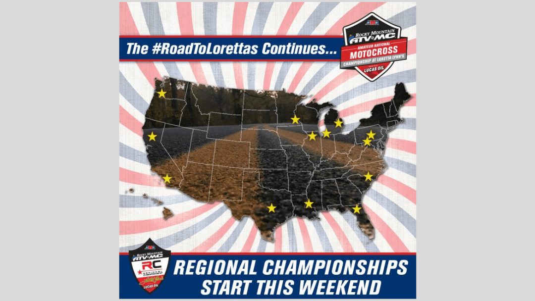Regional Championships Begin This Weekend for 2019 Rocky Mountain ATV/MC AMA Amateur National Motocross Championship