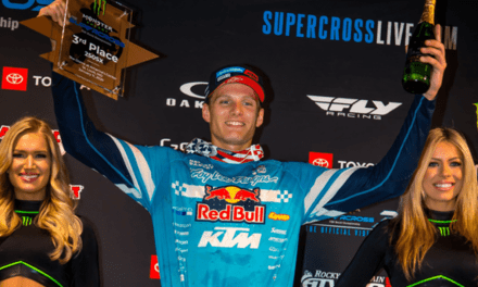 TROY LEE DESIGNS/RED BULL KTM'S BRANDON HARTRANFT EARNS FIRST-CAREER 250SX PODIUM
