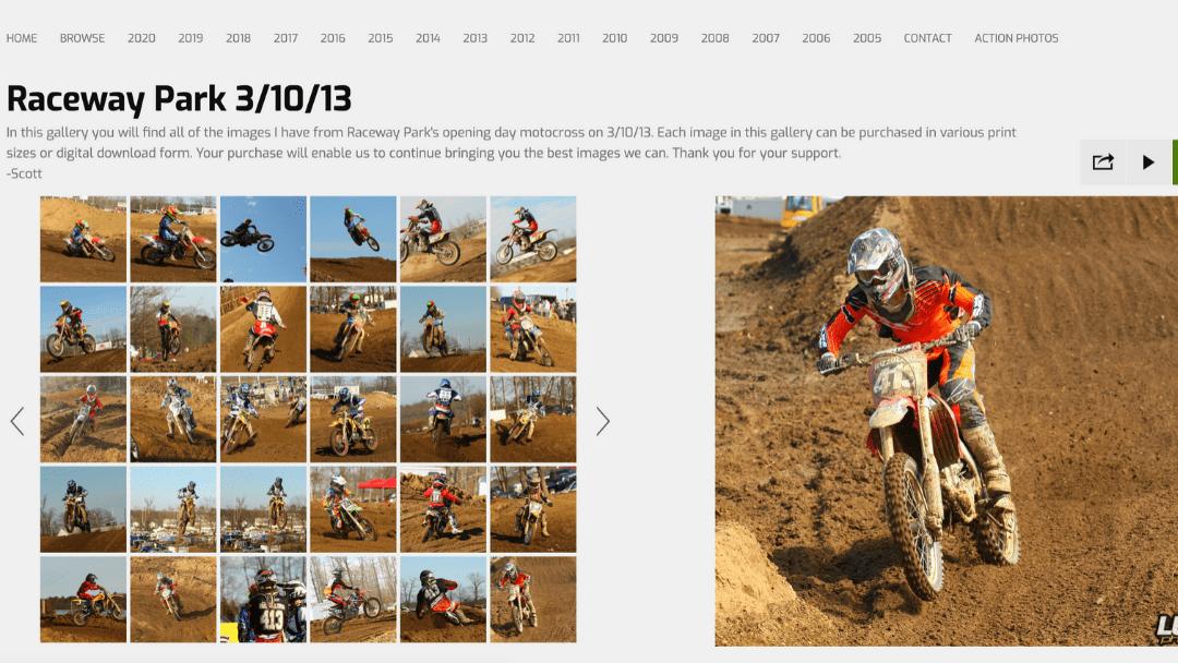 Throwback photo gallery – Raceway Park 3/10/13