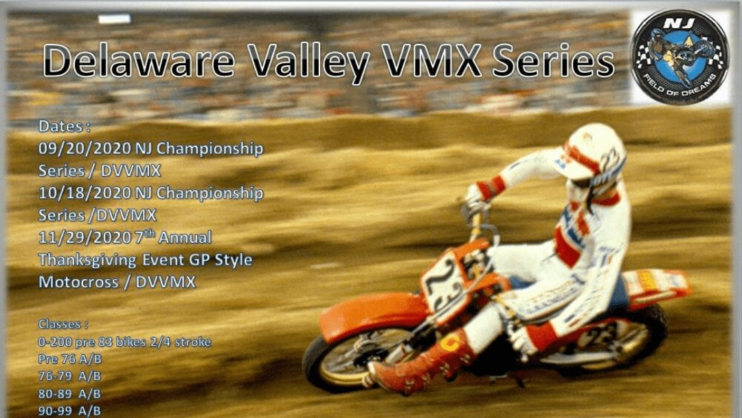 Vintage MX Series at NJMP Field of Dreams