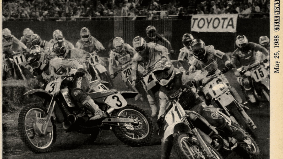 Giants Stadium Supercross 1988
