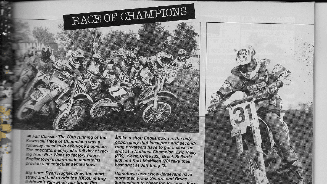 MXA Coverage of KROC 1996