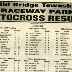 Raceway Park Motocross Results from 4/25/99