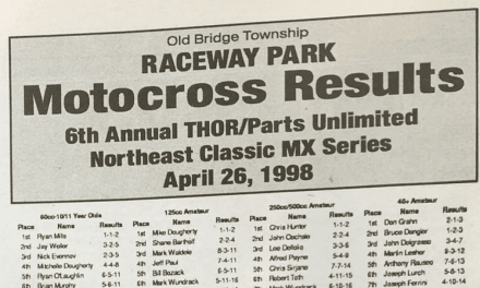 Raceway Park Results from 4/26/98