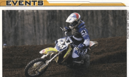 Raceway Park Motocross Results from March 28, 2004
