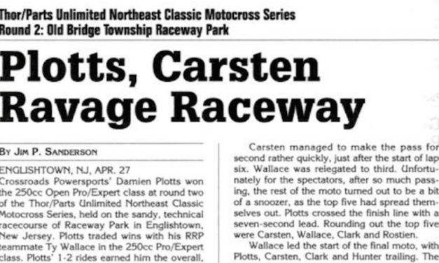 Raceway Park Motocross Results from 4/27/03