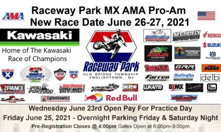 Raceway Park – Rescheduled Pro-Am