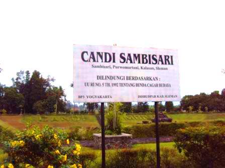lokasi candi Sambisari Yogyakarta