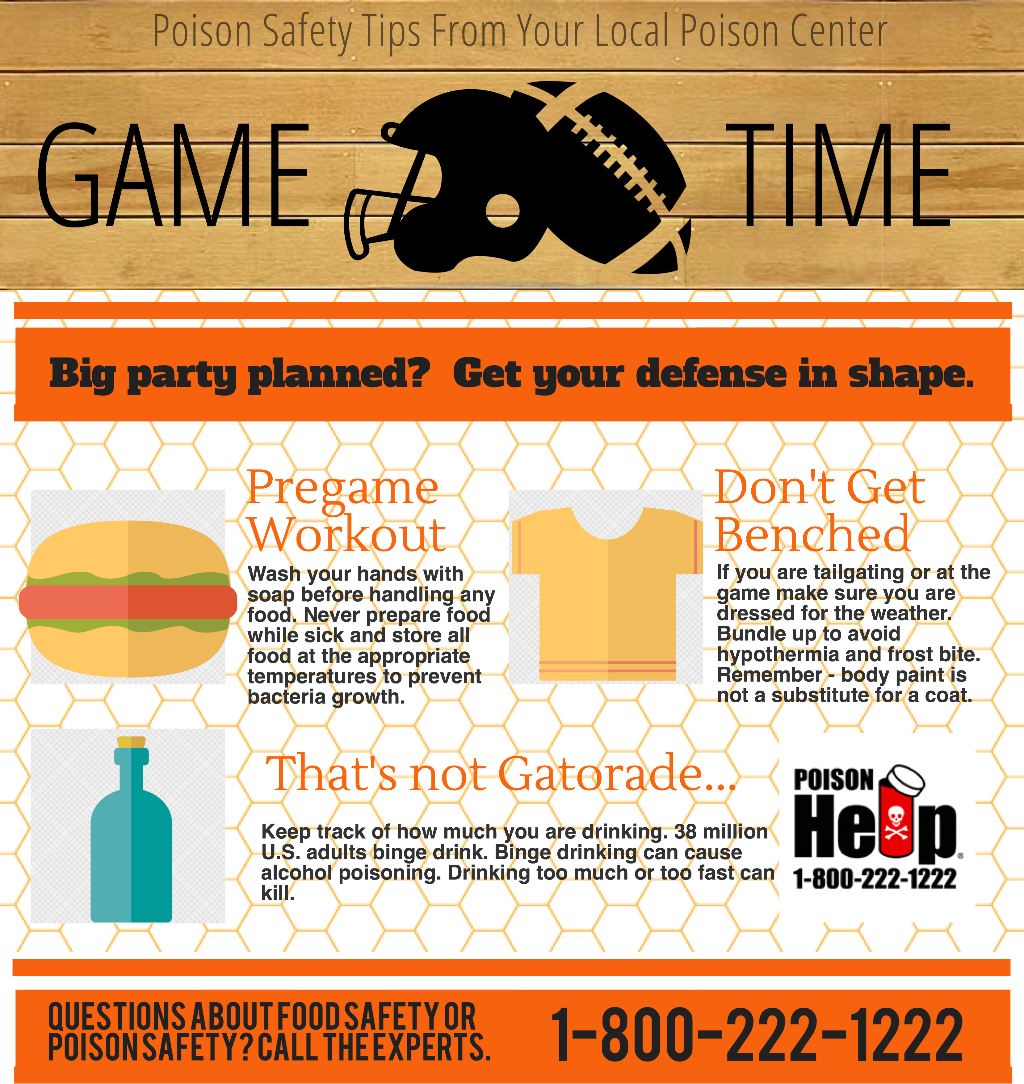 Game Time Super Bowl Safety Tips