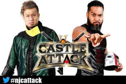 Five singles matches on Castle Attack night one card; preview | NEW JAPAN  PRO-WRESTLING