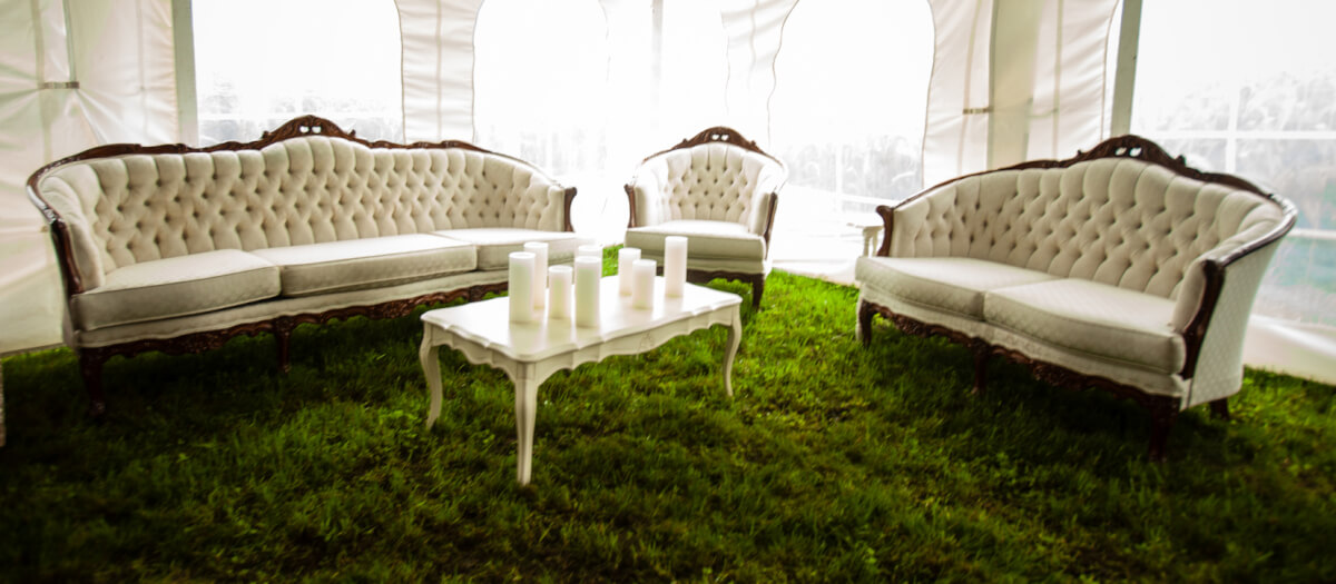 Vintage Lounge Set French Provincial Coffee Table Njs Design Event And Party Rentals