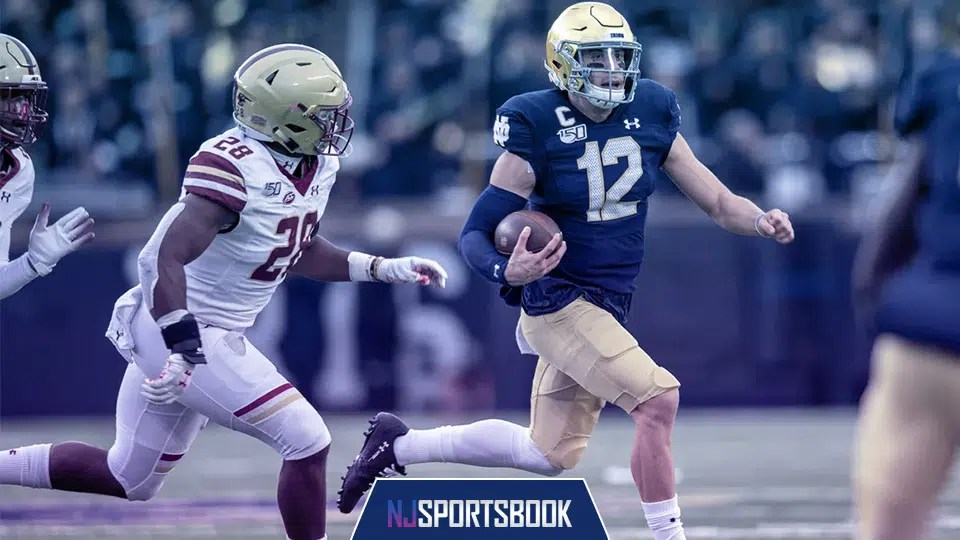 Notre Dame is riding high after taking down No. 1 Clemson last week. Can the Boston College Eagles put a dent in the Irish's title hopes?