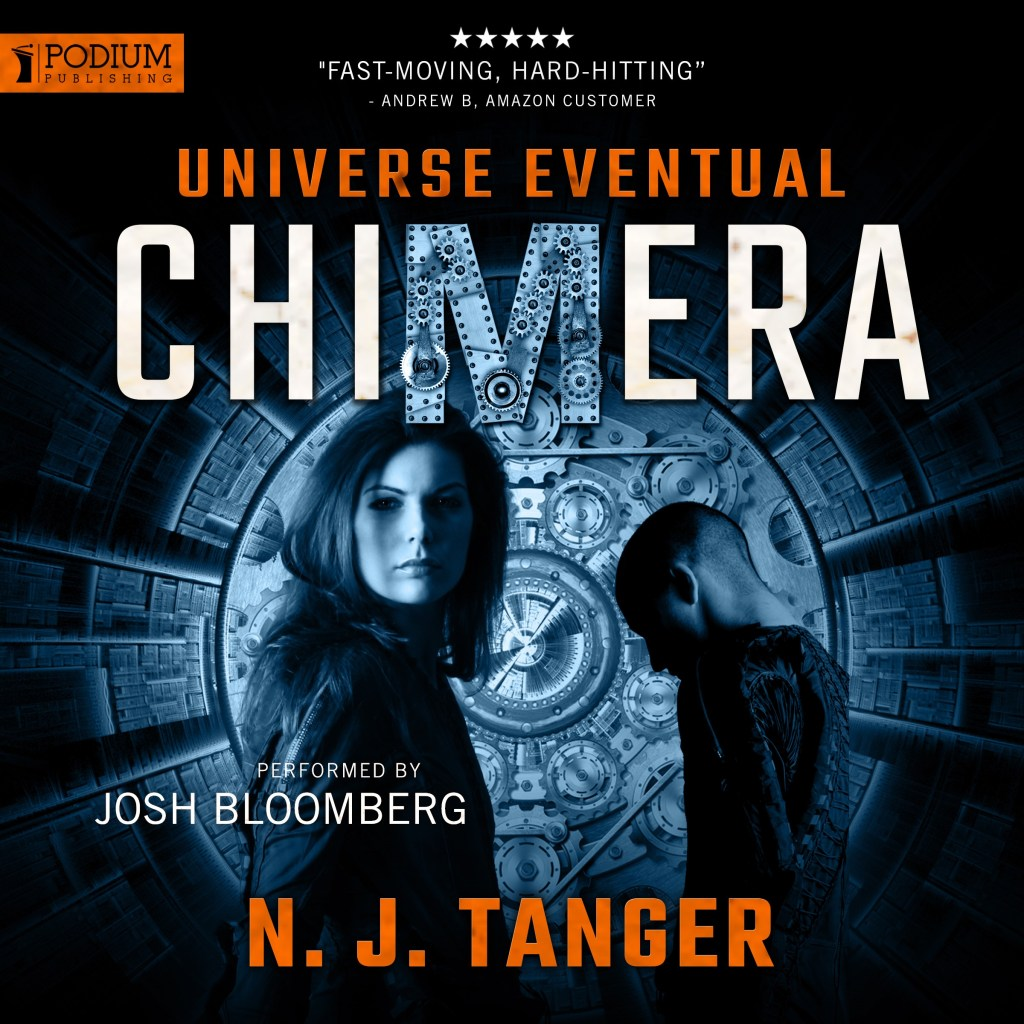 Chimera Audiobook from Podium Publishing, Narration by Josh Bloomberg