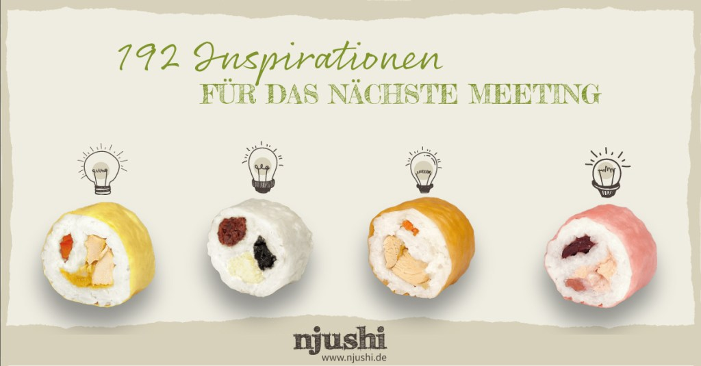 njushi - 192 Inspirationen für das nächste Meeting