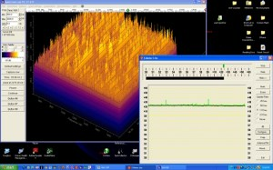 Example of RFI as displayed by both Spectrum Lab, and S-Meter Lite.