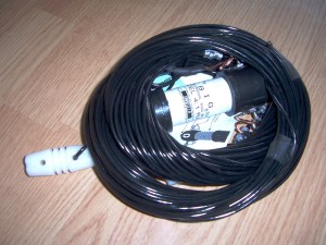 NI4L, 7 band off center fed dipole removed from mailing package
