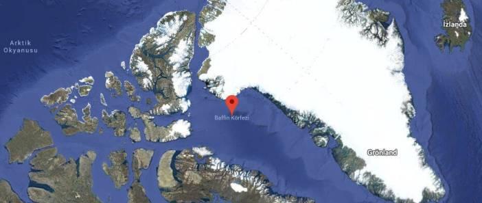 Baffin Körfezi Haritası