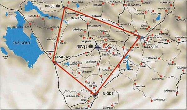 Kapadokya Haritası