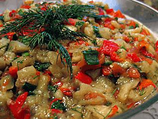 Közde Patlıcan Salatası Tarifi