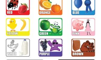 Resimli İngilizce Renkler