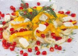 Rezene ve Nar Salatası Tarifi