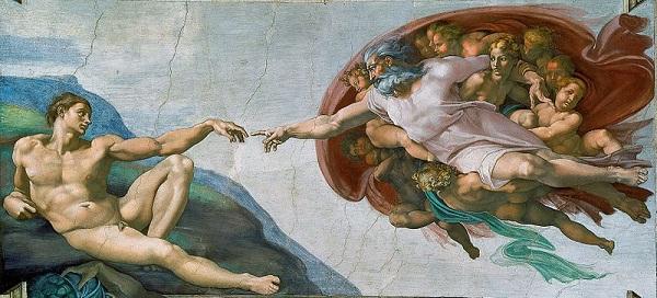 Michelangelo Adem'in Yaratılışı