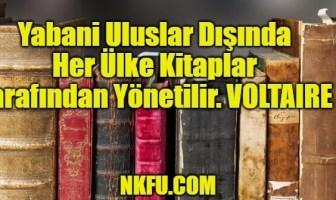 Yabani Uluslar Dışında Her Ülke Kitaplar Tarafından Yönetilir