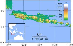 Cava Adası Haritası