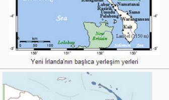 Yeni İrlanda (New Ireland) Adası
