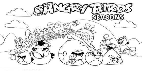 Angry Birds Boyama Sayfalari Ansiklomedia