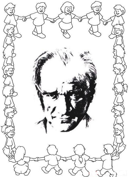 29 Ekim Cumhuriyet Bayrami Ve Ataturk Boyama Sayfalari
