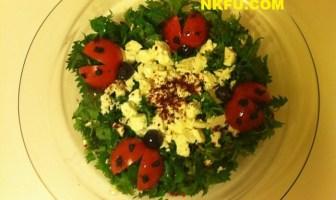 ısırgan salatası