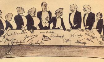 Lozan Konferansı Karikatürü